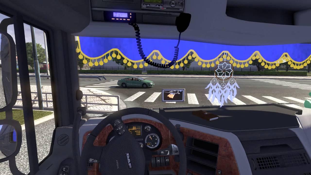 Daf Xf Interior Ets 2 Mod Youtube