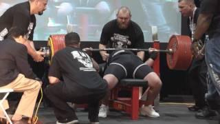 Jason Coker жим 410 кг