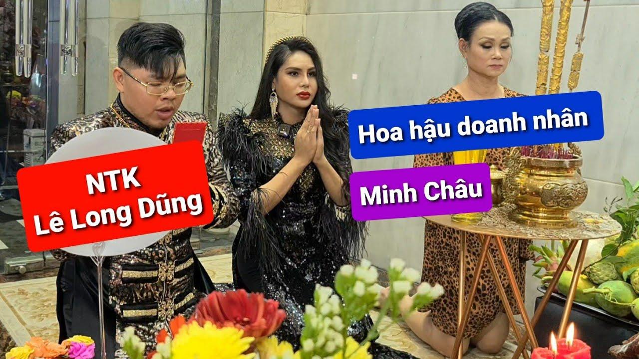 Món quà của NTK Lê Long Dũng tặng cho DIVA Cát Thy và Hoa hậu Minh Châu