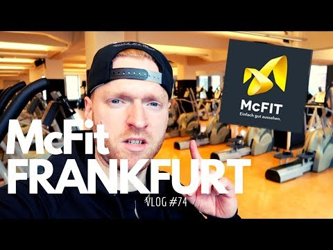 Als Fitness Trainer bei Mcfit arbeiten in Frankfurt Vlog #74