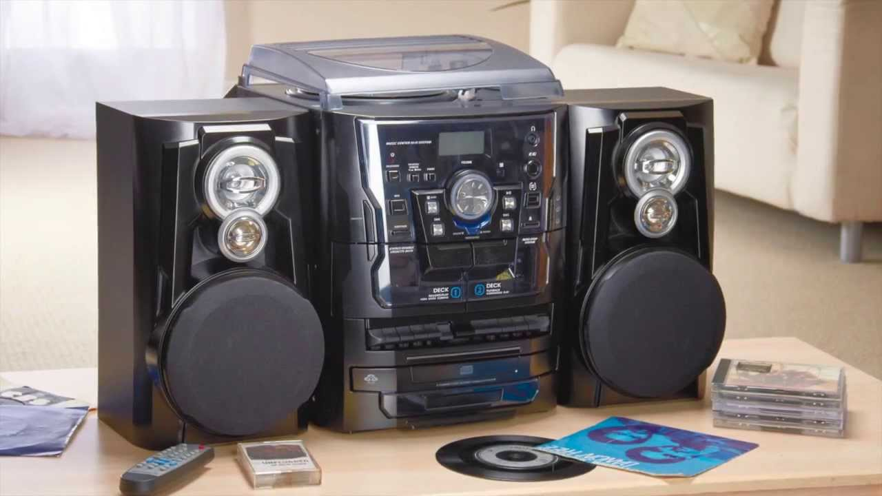 Black Zennox Midi Hi Fi System Youtube
