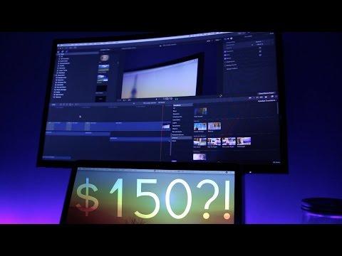 $150 Curved Monitor!