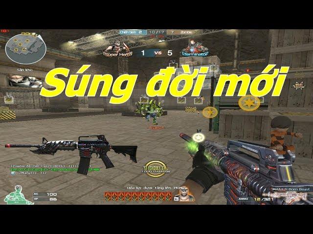 [ Bình Luận CF ] M4A1-S-Born Beast Bá Đạo khi trang bị Búp Bê - Tiền Zombie v4
