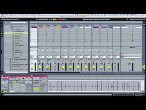 Importing backing tracks into Ableton Live (Ellie Goulding - Burn)