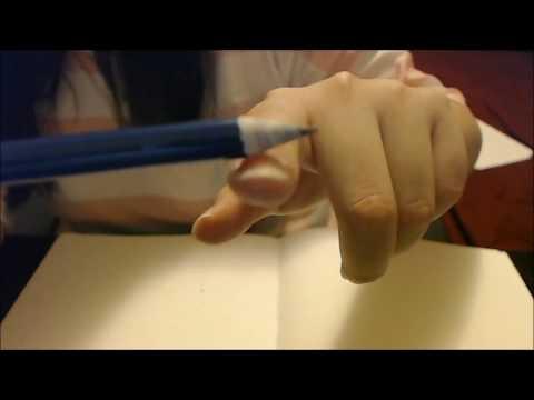 【ASMR】Writing on Sketchbook, Paper Tearing, Page Turning