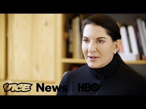 Marina Abramovic's Silent Birthday Celebration: VICE News Tonight on HBO