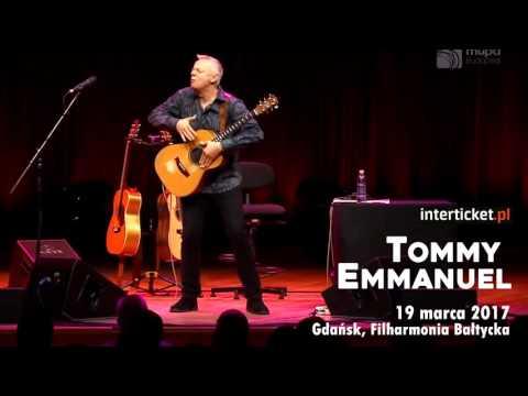 Tommy Emmanuel koncert Gdańsk