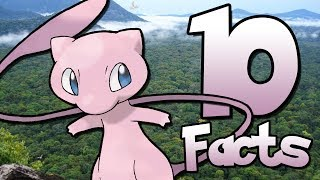 10 Things You Probably Didn't Know About Mew! (10 Facts) | Pokemon Facts