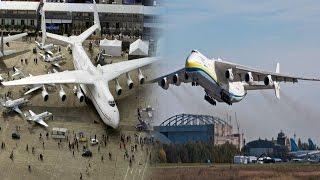 दुनिया का सबसे बड़ा विमान अब हिंदुस्तान में | World's Biggest Plane Antonov AN225 Mriya Now in India