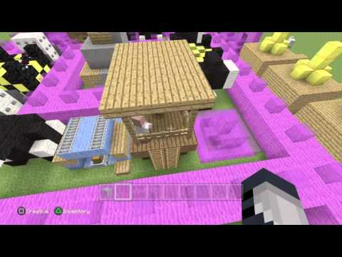 Minecraft: PlayStation®4 Edition Showing My Clash Of Clans Base