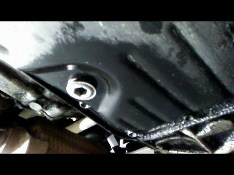 Differential and Automatic Transmission Fluid change Toyota Camry 1997-2001 (4-Cylinder Model)