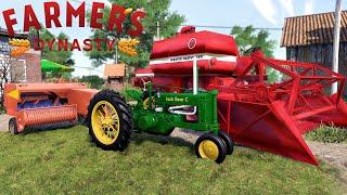 Farmer's Dynasty #9 Prasowanie, Ulepszenie maszyn, Nowy traktor na oku! MafiaSolecTeam