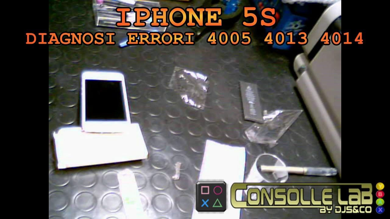 Ripristino Iphone 5s Trovato