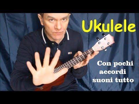 UKULELE - TUTTE le canzoni del mondo con pochi accordi
