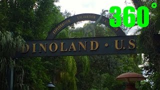 Animal Kingdom Dinoland USA 360˚ VR Walk Around HD Walt Disney World