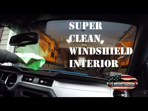 How to Super Clean Your Windshield | The Inside