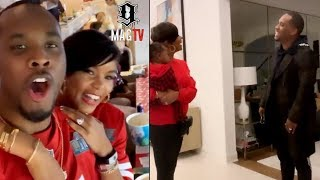 Letoya Luckett Surprises Hubby Tommie With Superbowl Tickets! 😍