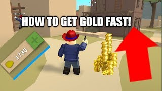 [CODE] HOW TO GET GOLD FAST on Roblox Wild Revolvers!