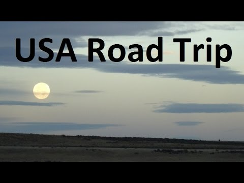 America Traveling by Car Interstate Road trip Interstate Travel I15