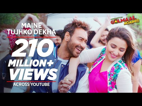 Maine Tujhko Dekha Song Lyrics From Golmaal Again