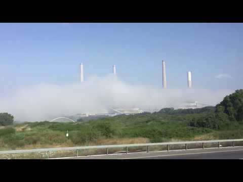 Electrical Power Plant in Israel