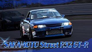 フルチューンのR32 GT-R!RB26改2,8Lエンジンサウンドが筑波サーキットに轟く!【Garage Active】