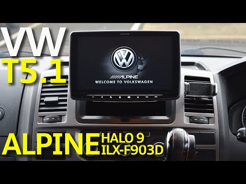 Alpine iLX-F903D Halo 9 Review - Volkswagen Transporter T5