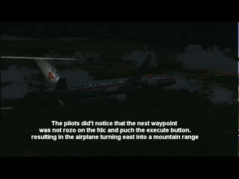 American Airlines Flight 965 crash-better quality(FSX)