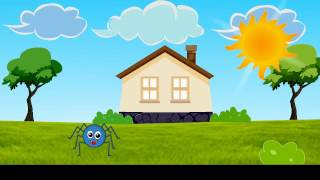 Incy Wincy Spider | nursery rhymes | song lyrics