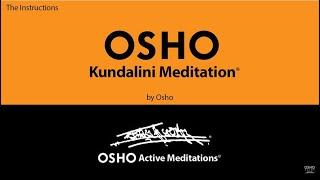 OSHO KUNDALINI MEDITATION          [Osho Active Meditations]