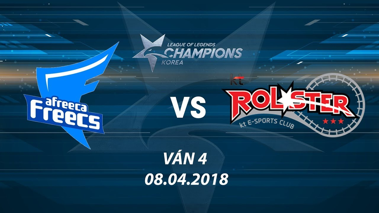 [08.04.2018] AFs vs KT [LCK Xuân 2018][Playoffs][Ván 4]