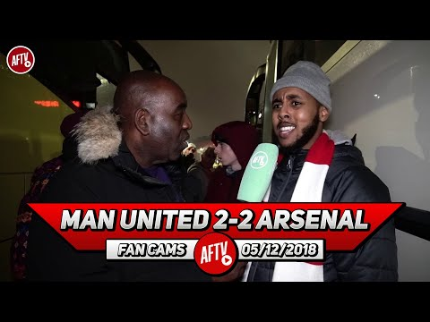 Man United 2-2 Arsenal | Jose Mourinho We Want You To Stay! (Livz Ledge)