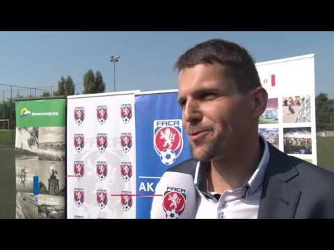 Otevření Regionální fotbalové akademie v Brně