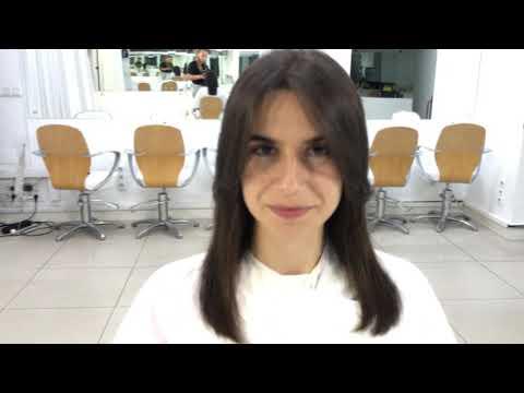 Самая популярная женская стрижка / Most Popular Female Haircut / Стрижка на длинные волосы.