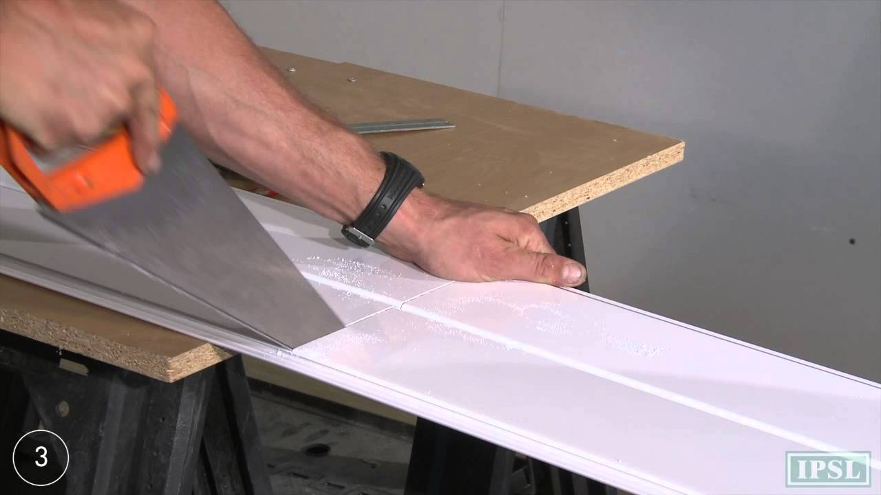 Pvc ceiling panels how to install aquaclad ceiling panels by pvc ceiling panels how to install aquaclad ceiling panels by ipsl youtube dailygadgetfo Images