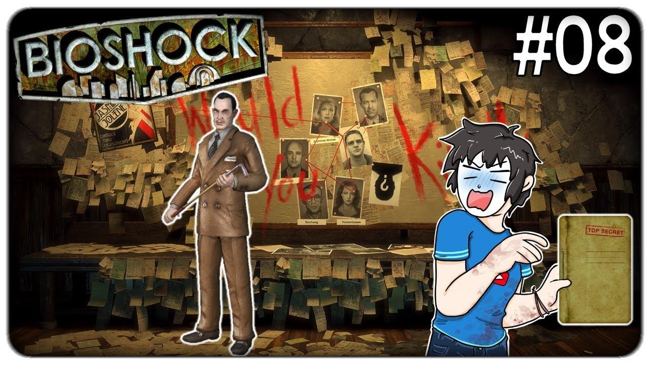 PARLIAMO FACCIA A FACCIA CON ANDREW RYAN CHE CI SVELA UN OSCURO SEGRETO | Bioshock Remastered ep.08