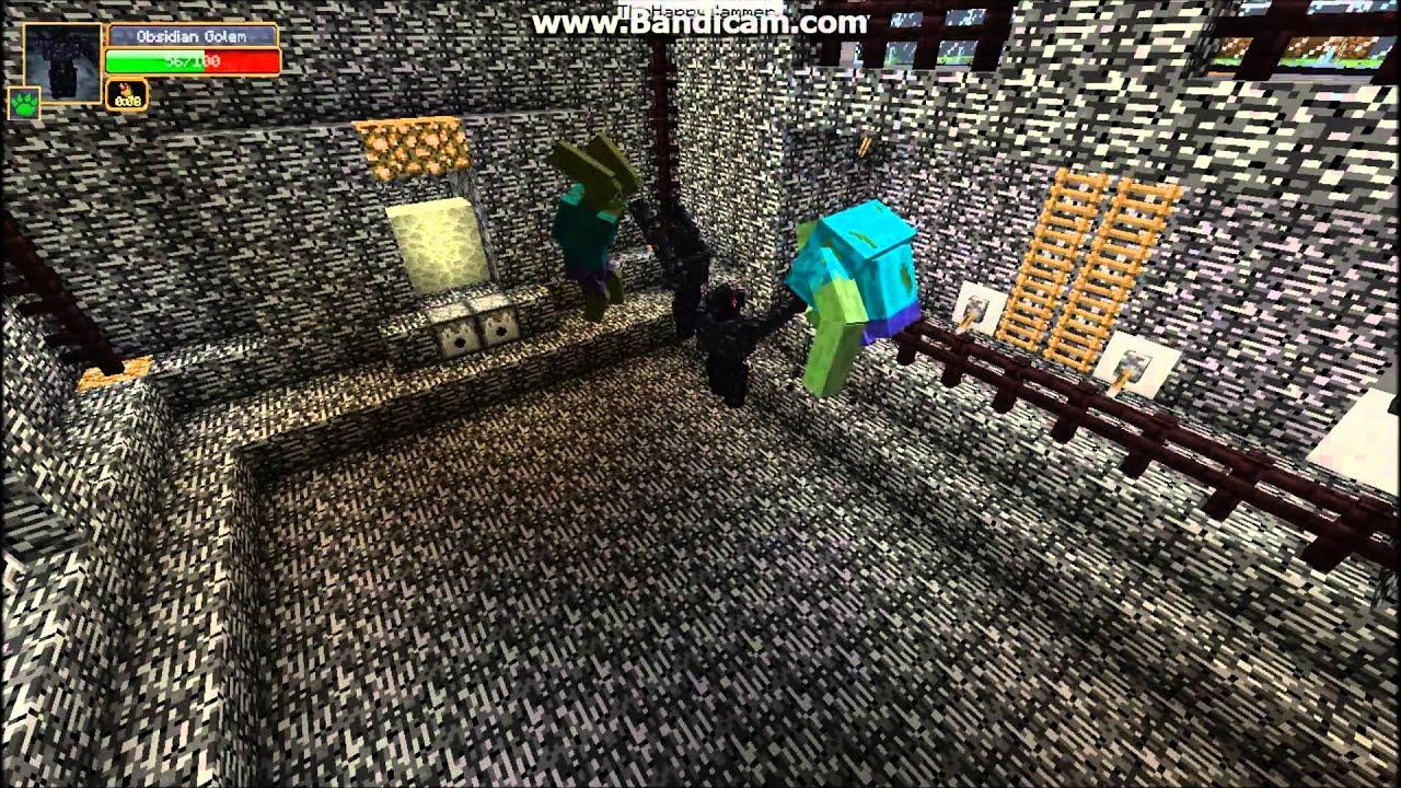 Papercraft Golem Mutant Minecraft