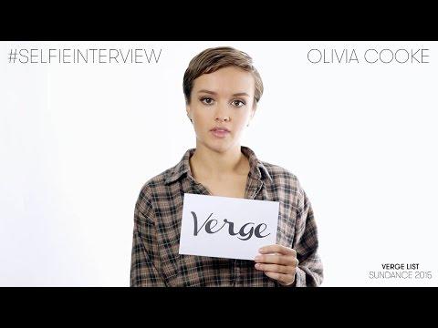 Olivia Cooke selfie  Verge List: Sundance 2015