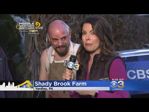 Frightening Fun At Shady Brook Farm's Haunted Houses