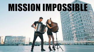 Mission: Impossible - Fallout (2018) Theme Song (SOUNDTRACK) B&B PROJECT | Bandura & Accordion cover