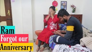 Ram Forgot our Anniversary 😭 He had no idea Prank