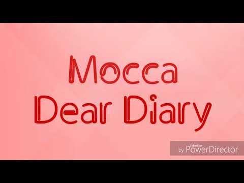 Mocca - Dear Diary Lirik