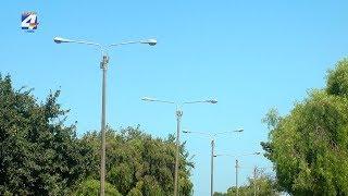 Comienza el recambio de luminarias de alumbrado público por lámparas Led