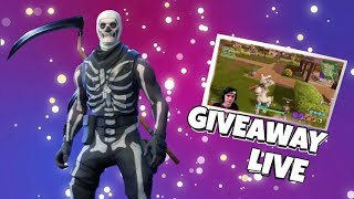 Fortnite VBUCKS / SKULL TROOPER GIVEAWAY - Skull Trooper RETURNS! - Fortnite Live