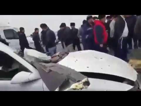 Новости Таджикистан +18 ВИДЕО СМЕРТЕЛЬНОЙ АВАРИИ В ИСТАРАВШАНЕ