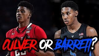 Could The New York Knicks Take Jarrett Culver OVER RJ Barrett With The 3rd Pick In The NBA Draft!?