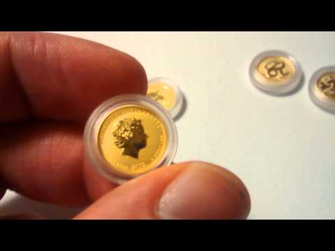 Gold stack fractionals SALE Australian gold coins- SOLD