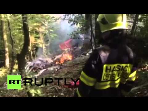 Slovakia: At least 7 dead after two planes collide in mid-air