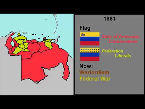 History of Venezuela Every Year (1777-2020)