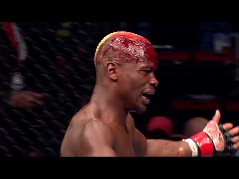 Bloodied up Sibussisso Mdoko manages to finish the fight - EFC